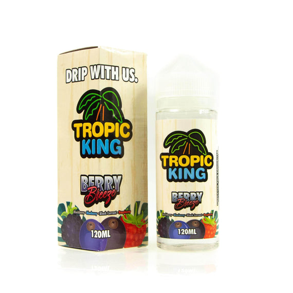 Berry Breeze by Tropic King Short Fill 100ml