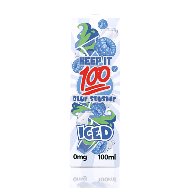 Blue Slushie Ice - Keep It 100 Short fill 100ml