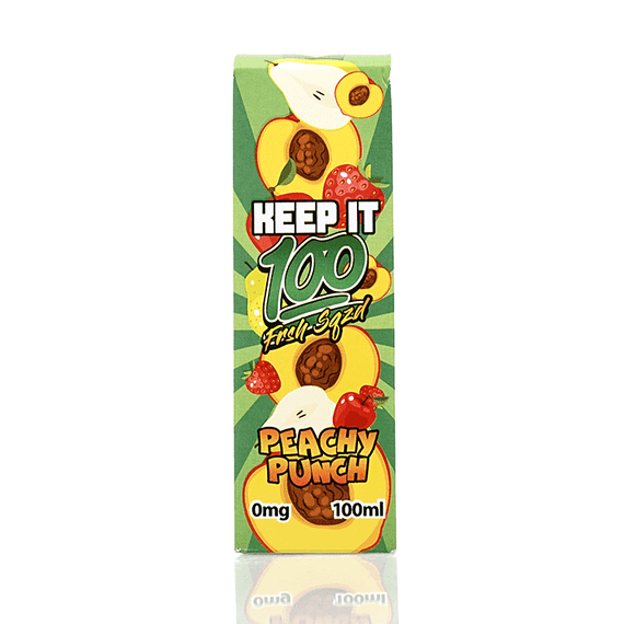 Peachy Punch - Keep It 100 Short fill 100ml