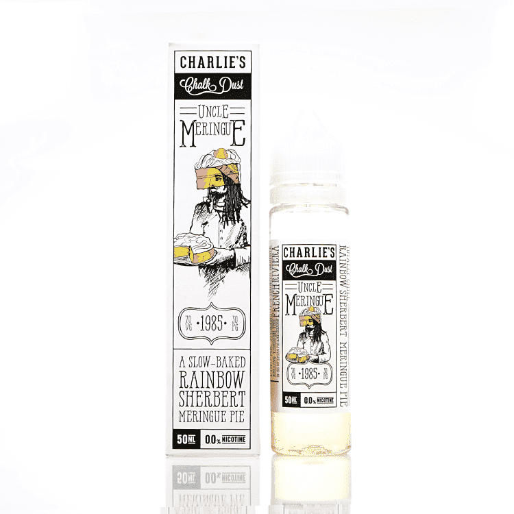 Charlie's Chalk Dust Rainbow Sherbert by Uncle Meringue Short Fill 50ml grey-haze.myshopify.com