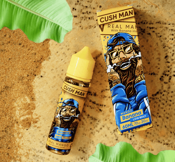 Banana Cush Man Series Low Mint by Nasty Juice Short Fill 50ml