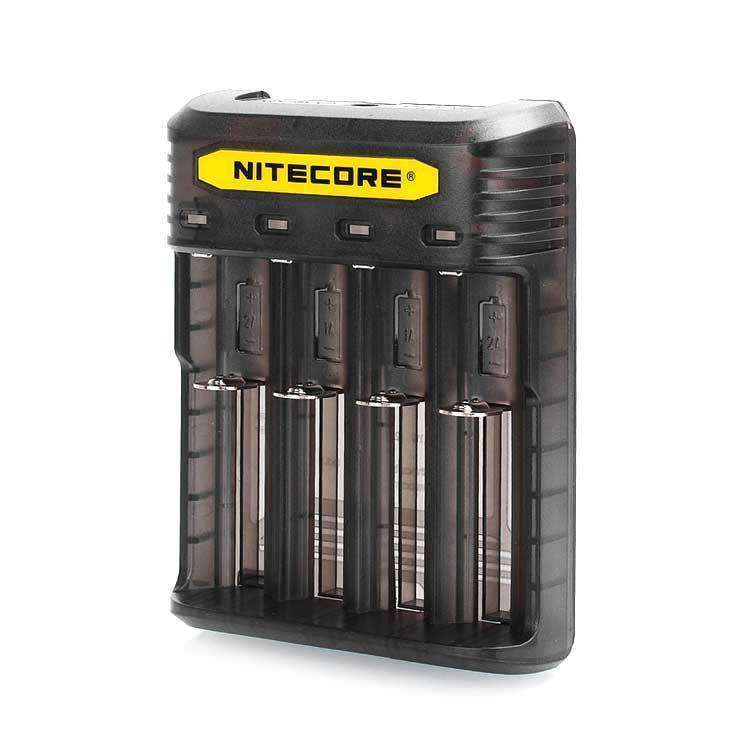 Nitecore Q4 4 Slot 2A Li-ion and IMR Battery Charger grey-haze.myshopify.com