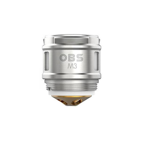 OBS Cube X M3 Replacement Coil 5pcs OBS grey-haze.myshopify.com