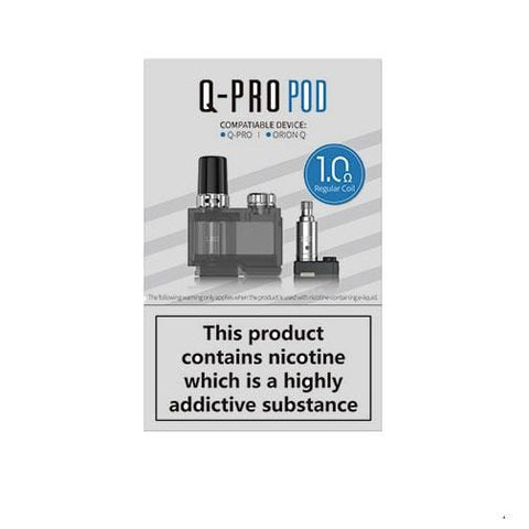 Lost Vape Orion Q-Pro Kit Refillable Replacement Pod Cartridge 1 Pcs grey-haze.myshopify.com