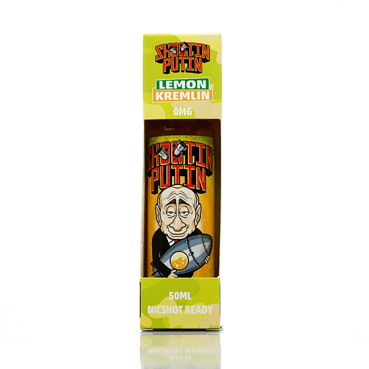 Lemon Kremlin - Shooting Putin – 50ml Short Fill grey-haze.myshopify.com