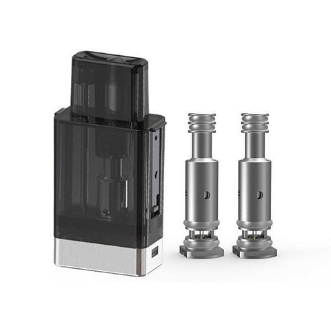 Smoant Battlestar Baby Cartridge Pod Kit Replacement Pack 1 Pod / 2 Coils grey-haze.myshopify.com