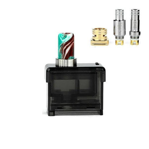 Smoant Pasito Pod Cartridge Kit Replacement Pack 1 Pod / 2 Coils grey-haze.myshopify.com