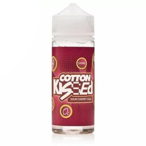 Sour Cherry Cola by Cotton Kissed Short Fill 100ml