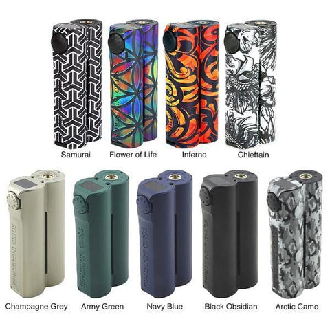 Double barrel V3 150W Mod by Squid Industries grey-haze.myshopify.com