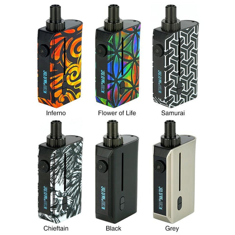 Squid Industries Squad Refillable  TC Pod Kit Squid industries grey-haze.myshopify.com