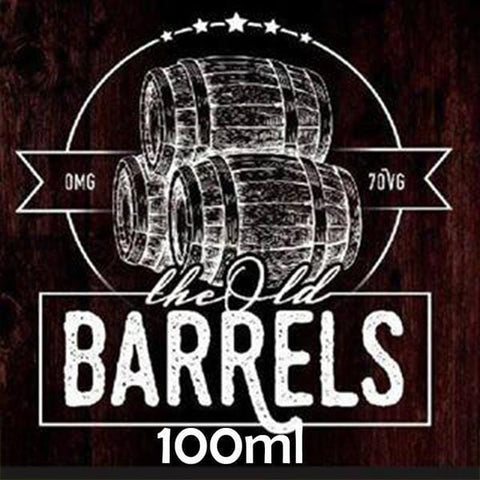 Raspberry & Peach Cider by The Old Barrels Short Fill 100ml