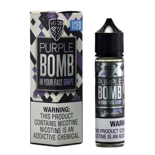 Purple Bomb Iced - VGOD Short Fill 50ML
