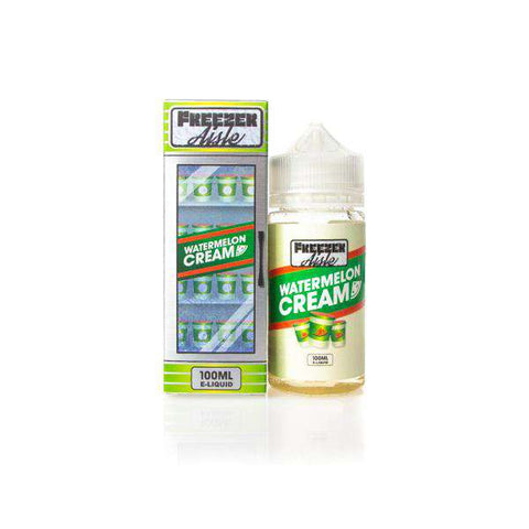 Watermelon Cream by Freezer Aisle 100ml Short Fill grey-haze.myshopify.com