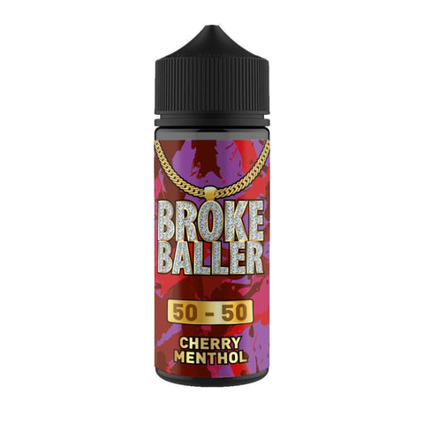 Cherry Menthol By Broke Baller Short Fill 80ml grey-haze.myshopify.com