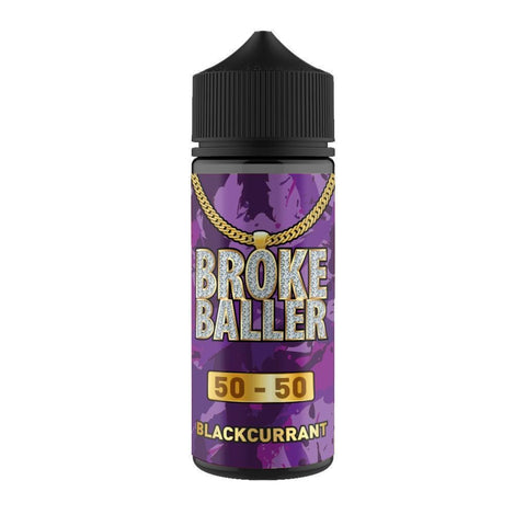 Blackcurrant By Broke Baller Short Fill 80ml grey-haze.myshopify.com