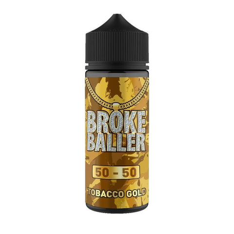 Tobacco Gold By Broke Baller Short Fill 80ml grey-haze.myshopify.com