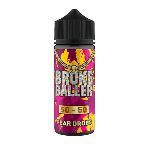 Pear Drops By Broke Baller Short Fill 80ml grey-haze.myshopify.com