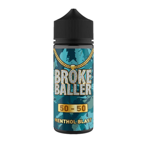 Menthol Blast By Broke Baller Short Fill 80ml grey-haze.myshopify.com
