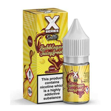 Bubblegum Juicyfroot X Series Nic Salt E-Liquid grey-haze.myshopify.com
