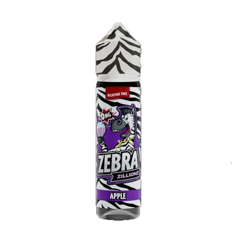 Apple Zebra Zillionz Short Fill 50ml grey-haze.myshopify.com