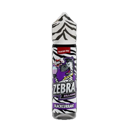 Blackcurrant Zebra Zillionz Short Fill 50ml grey-haze.myshopify.com