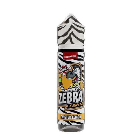 Twisted Lemon Zebra Fruitz Short Fill 50ml grey-haze.myshopify.com