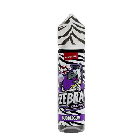 Bubblegum Zebra Zillionz Short Fill 50ml grey-haze.myshopify.com
