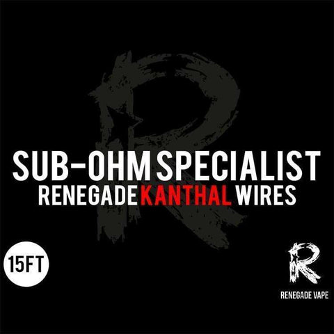 Renegade Kanthal Wire 15ft grey-haze.myshopify.com