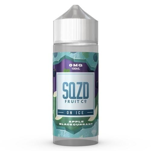 Apple Blackcurrant on Ice by SQZD - Short Fill 100ml