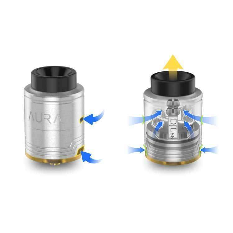 Aura RDA By DigiFlavor & DJLsb 24mm BF grey-haze.myshopify.com
