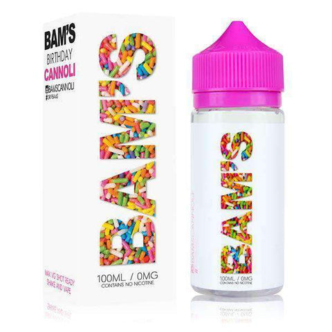 Bam Bam's Birthday Cannoli - Short Fill 100ml grey-haze.myshopify.com