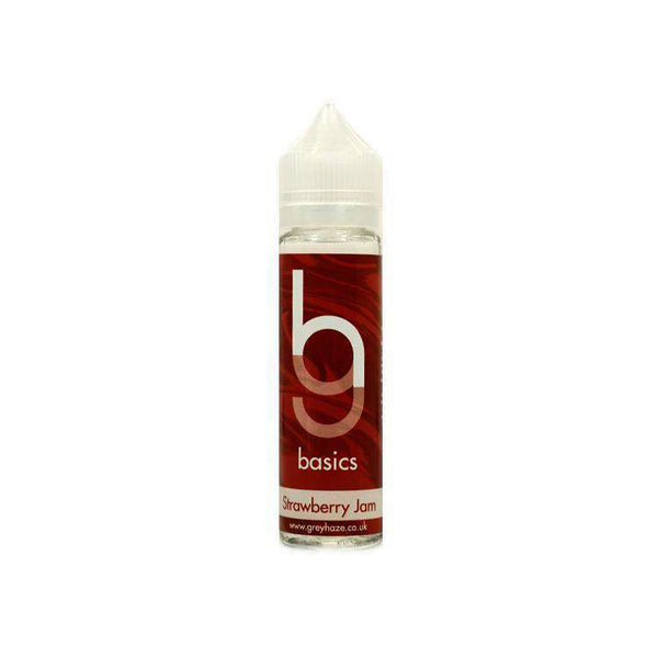 Grey Haze Basics -  Strawberry Jam - 50ml Short Fill