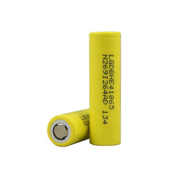 LG HE4 18650 2500mAh 20A Single Battery