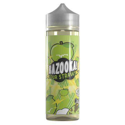 Green Apple Sour Straws ICE – Bazooka - Short Fill 50ML