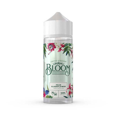 Pear Elderflower by Bloom Short Fill 100ml grey-haze.myshopify.com