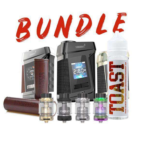 Smoant Ranker Box MOD / Revolver RTA Bundle / 2x LG HG2 / TOAST - Strawberry