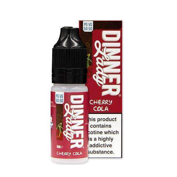 Cherry Cola 50/50 E-Liquid by Dinner Lady 10ml