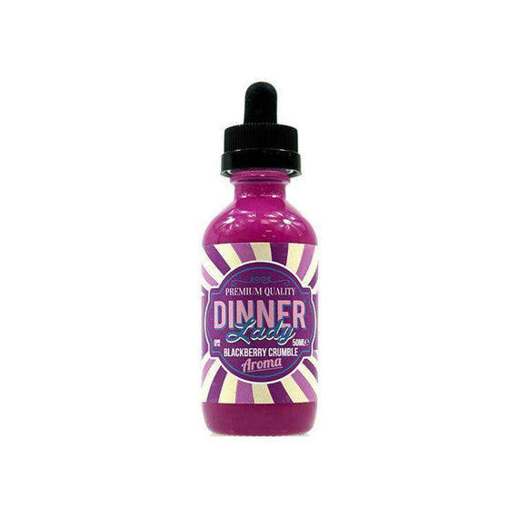 Blackberry Crumble Dinner Lady - Short Fill 50ML