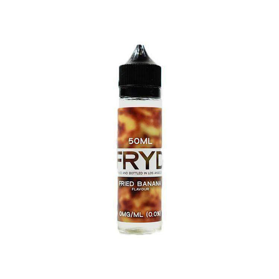 Eliquid - Fried Banana By FRYD - 50ML - Quick Nic Ready