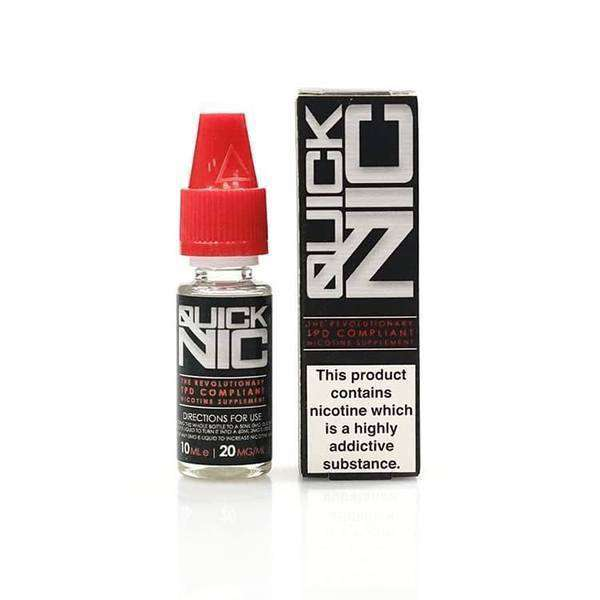 QUICKNIC - 10ML 18MG NICOTINE SHOT OFFER grey-haze.myshopify.com