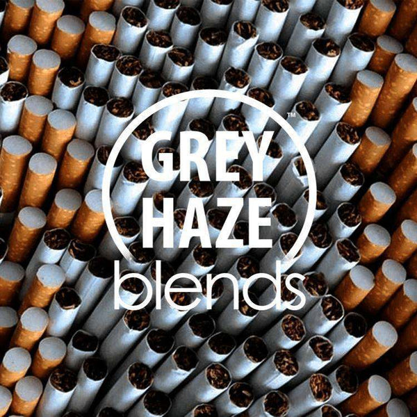 Straight Cigarette - Grey Haze Blends - Short Fill – MaxVG