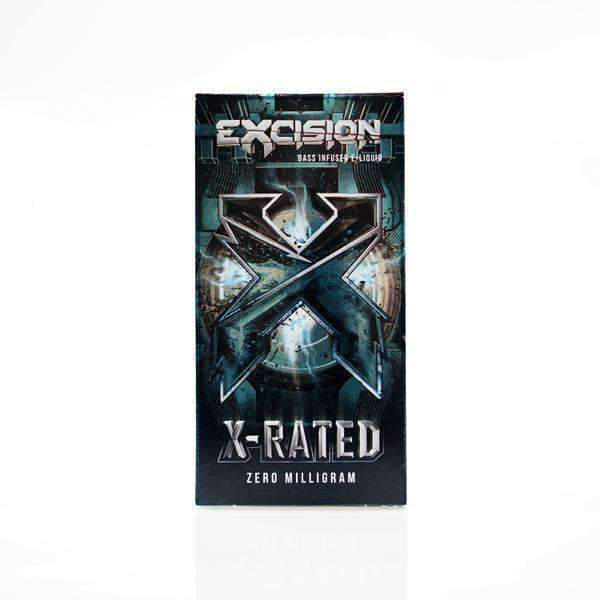 Excision X-RATED E-Liquid - Short Fill