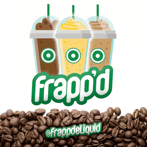 Frapp'd - Vanilla Bean Frappé - 50ml Short Fill grey-haze.myshopify.com