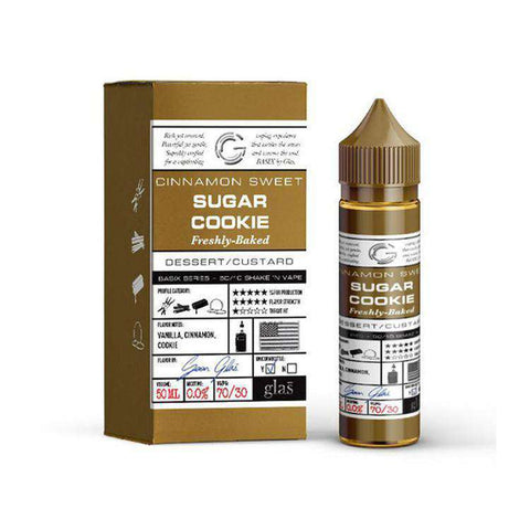 Glas Basix - Sugar Cookie - Short Fill 50ML grey-haze.myshopify.com