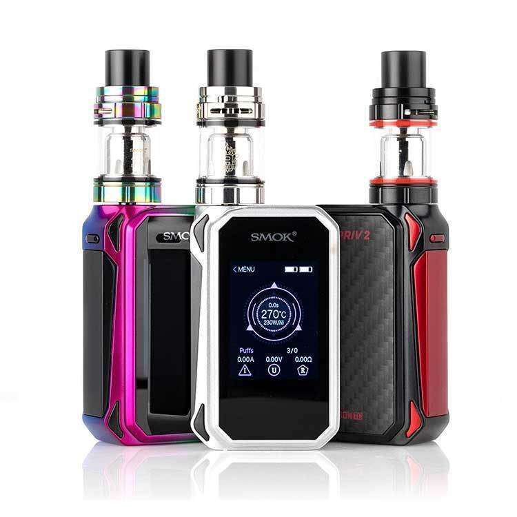 SMOK G-Priv 2 Touch Screen 230W TC Kit grey-haze.myshopify.com