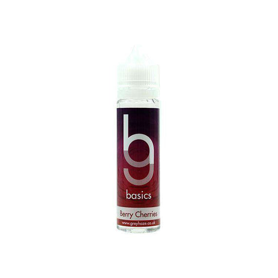 Grey Haze Basics -  Berry Cherries - 50ml Short Fill