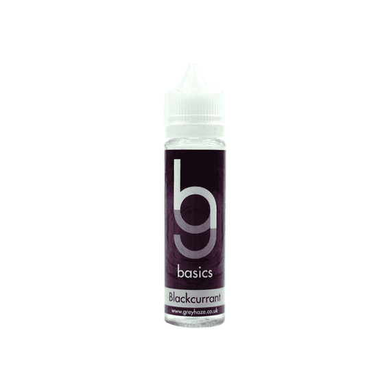 Grey Haze Basics -  Blackcurrant - 50ml Short Fill