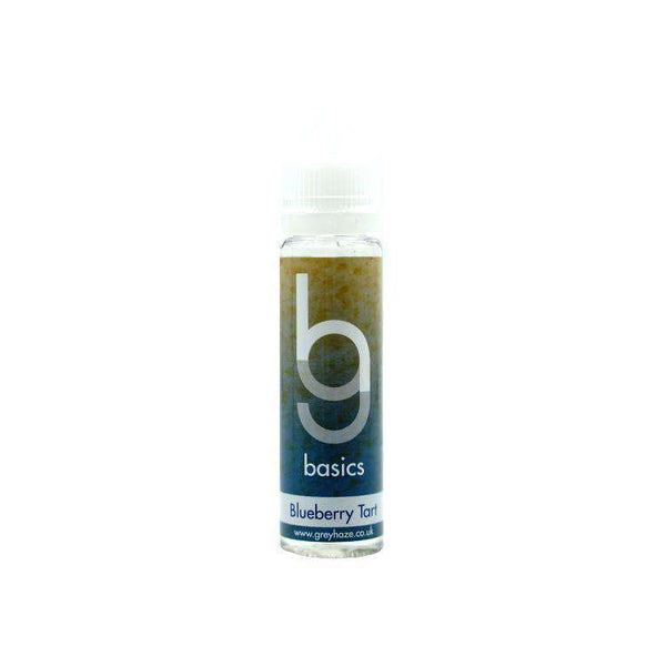 Grey Haze Basics - Blueberry Tart - 50ml Short Fill