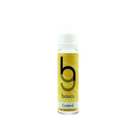 Grey Haze Basics - Custard - 50ml Short Fill