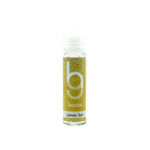 Grey Haze Basics - Lemon Tart - 50ml Short Fill grey-haze.myshopify.com